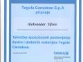 tegola-sertifikat