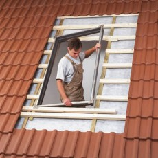 Montaža krovnih prozora